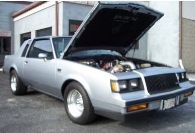 silver buick grand national