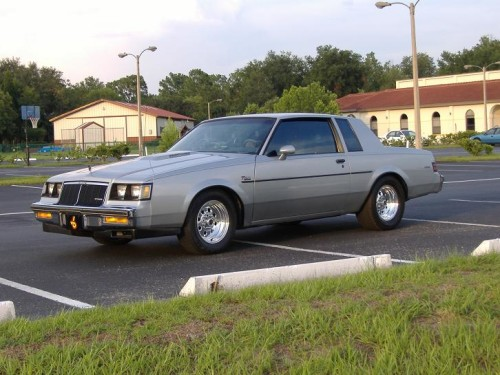 silver buick t-type