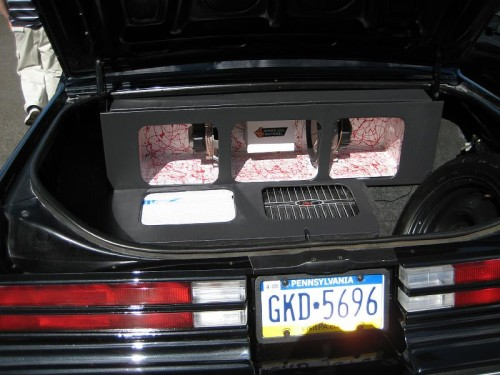 sound system buick grand national