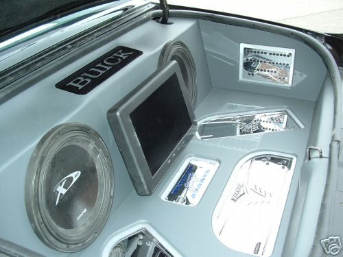 speakers in buick grand national