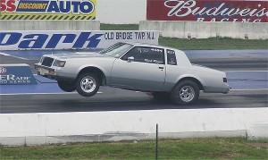 turbo buick wheelie