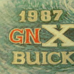 1987 Buick GNX lithograph
