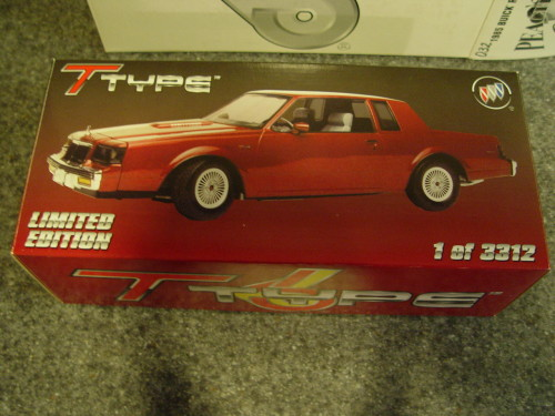 gmp 1985 buick regal t-type diecast