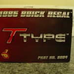 gmp 1985 buick regal t-type model box