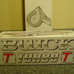 1987 buick turbo t diecast model car collector box