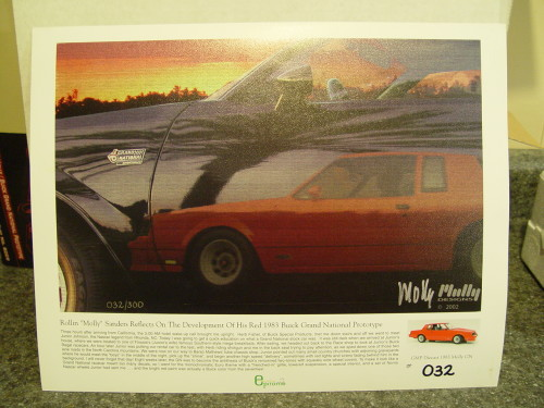 gmp buick diecast lithograph
