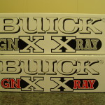 GMP Buick GNX XRAY diecast
