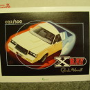 1:18 Scale GMP 8101 1987 Buick GNX XRAY