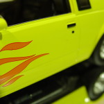 yellow with flames 1987 buick grand national