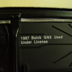 gmp GM Buick license