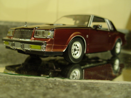 two tone red 1987 buick regal