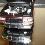 gmp D84 two tone rosewood buick T diecast