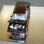 epitome two tone rosewood buick T diecast