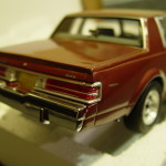 epitome rosewood buick diecast car
