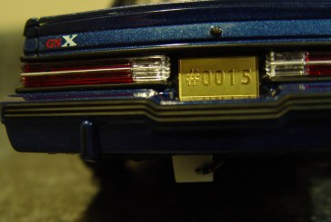 1:18 Scale GMP G1800222 GNX Drag Buick (blue)