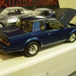 gmp blue gnx drag buick diecast model