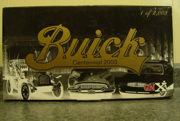 1:18 Scale GMP 8103 (Black Chrome) Buick Centennial 2003