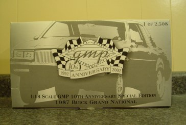 1:18 Scale GMP 8001B (Black Chrome) 1987 Grand National (GMP 10th Anniversary)