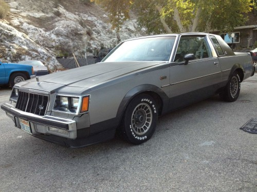 1982 buick grand national regal
