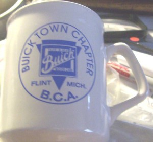 BCA Buick Town Chapter Mug