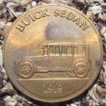 BRONZE BUICK ADVERTISING MEDAL 1