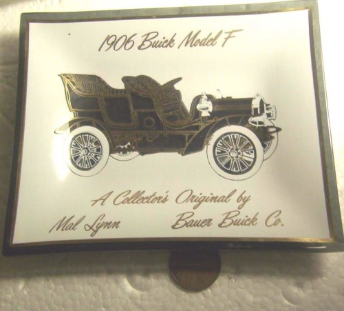BUICK 1906 MODEL F ASHTRAY
