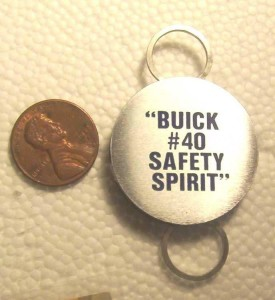 BUICK FACTORY #40 KEY CHAIN RIVIERA PLANT