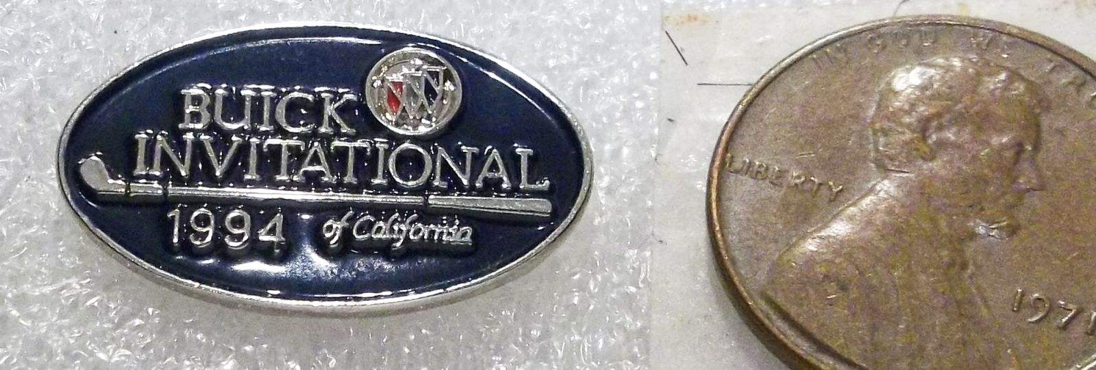 Promotional buick pins buick invitational of california 1994 pin fandeluxe Choice Image