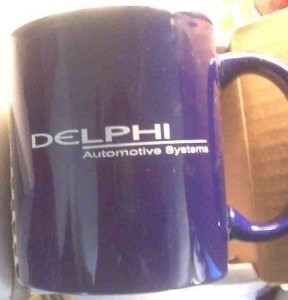 DELPHI AUTOMOTIVE SYSTEMS MUG
