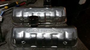 TA performance Buick Valve Covers