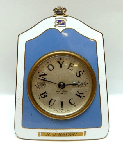 The Noyes Buick Company 1920s clock