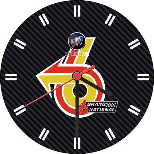 Turbo V6 Buick Grand National Clock