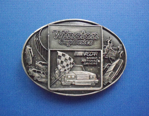 Winston Cup Series NASCAR Grand National Drivers Belt Buckle
