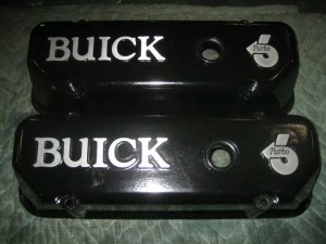 black turbo valve covers
