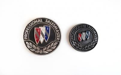 buick Professional Salesmaster medallions