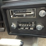 buick ac radio controls