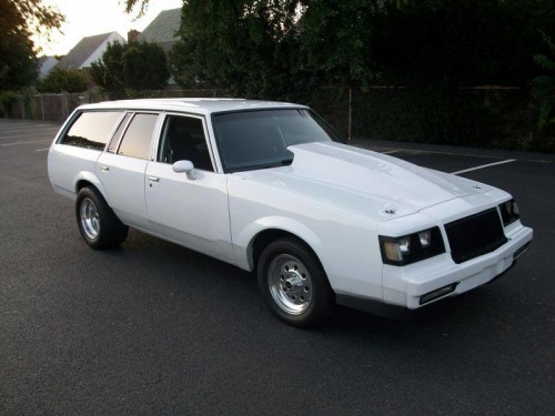 buick grand national malibu station wagon