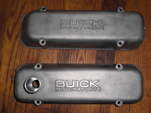 buick motorsports stock style valve covers
