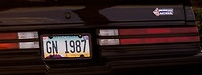 gn1987 plate