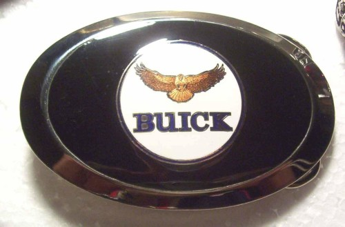 happy the hawk buick belt buckle