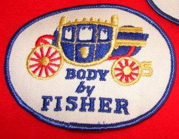 oval body by fisher patch