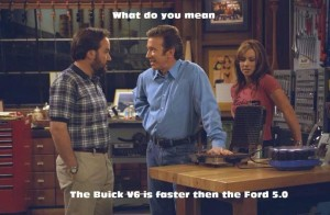 the buick v6 is faster