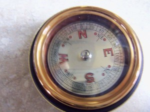 vintage Buick Dealership promotional compass 2