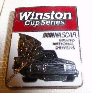 winston cup series nascar grand national drivers pin