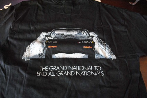 1987 Buick GNX Molly t shirt 3