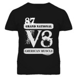 1987 Buick Grand National v8 muscle shirt