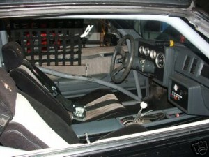 buick gn interior roll cage