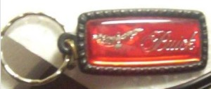 buick hawk key chain