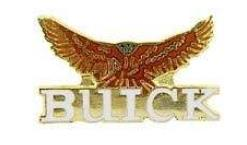 buick nameplate hawk pin