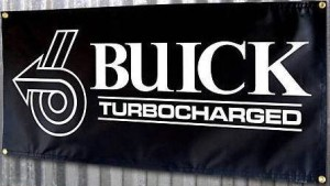 buick turbocharged banner